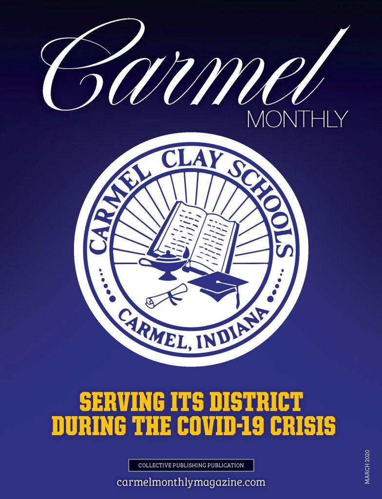 Carmel Monthly magazine coronavirus cover