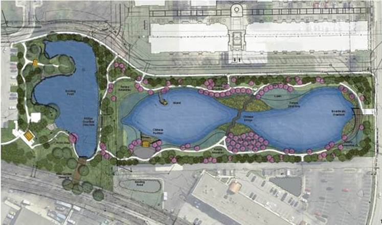 Carmel and Township Plan New Expansion of Sister Cities Cultural Gardens