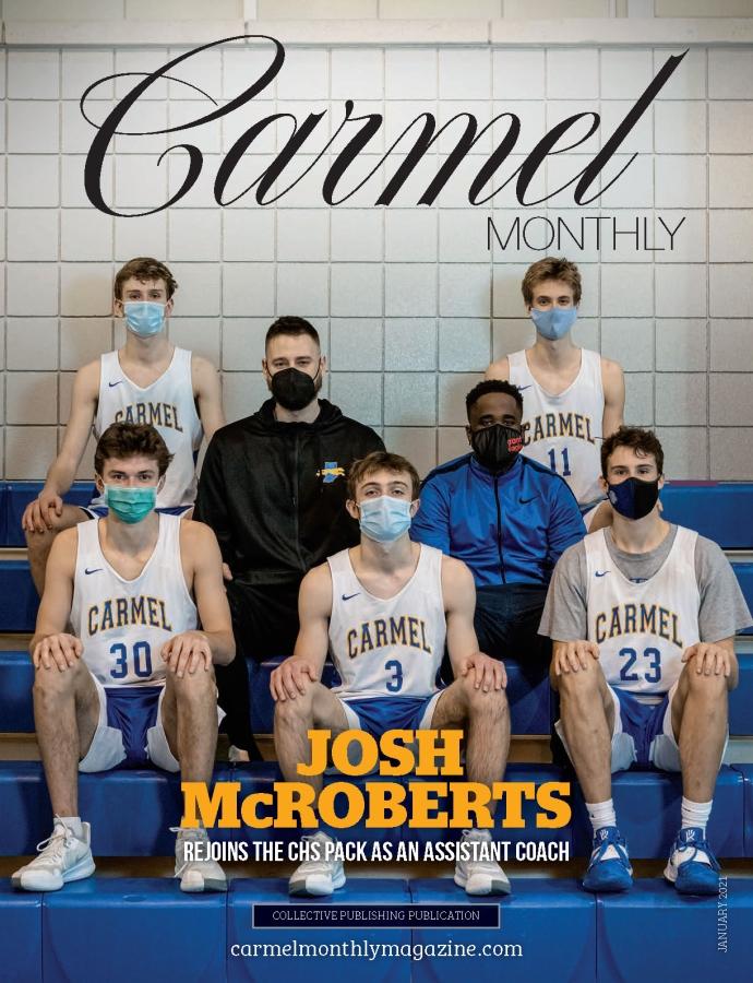 Carmel Monthly magazine January 2021 cover