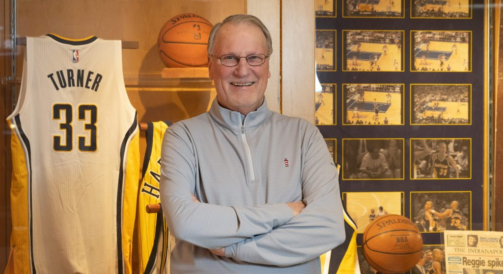 Bill Benner Named to Hall of Fame By Zionsville Based US Basketball Writers Association