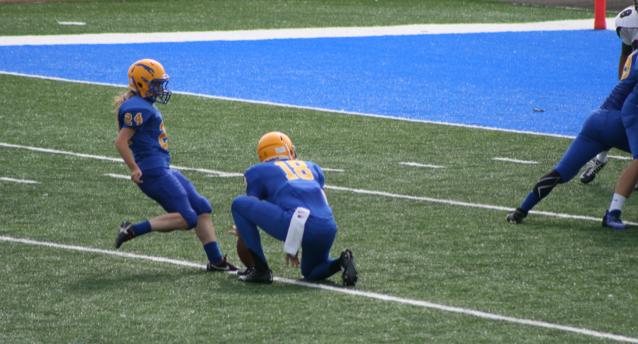 Former CHS Greyhound Kicker Samantha Eastes on Coaching Football