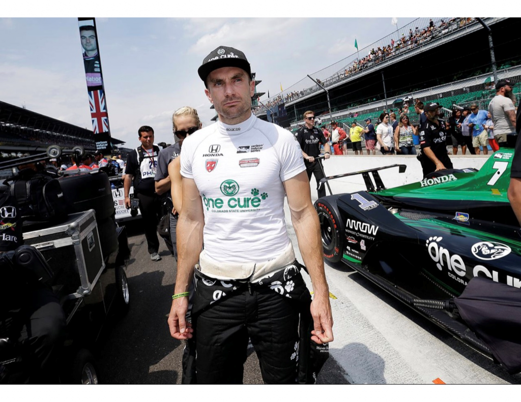 IndyCar Driver Jay Howard