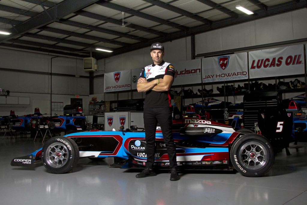 Carmel's Own IndyCar Driver Jay Howard: On Developing the Next Generation of Drivers