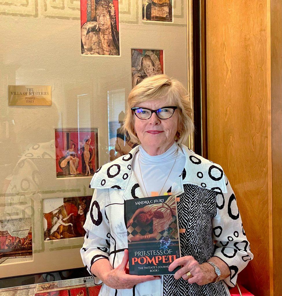 Carmel Author Sandra Hurt