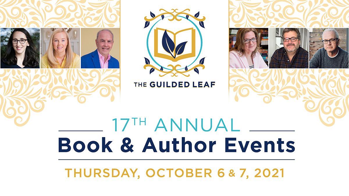 Local Author Rob Harrell to Be Featured at The Guilded Leaf 17th Annual Book & Author Luncheon