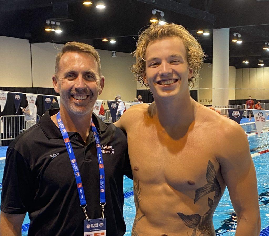 Carmel Swim Chris Plumb