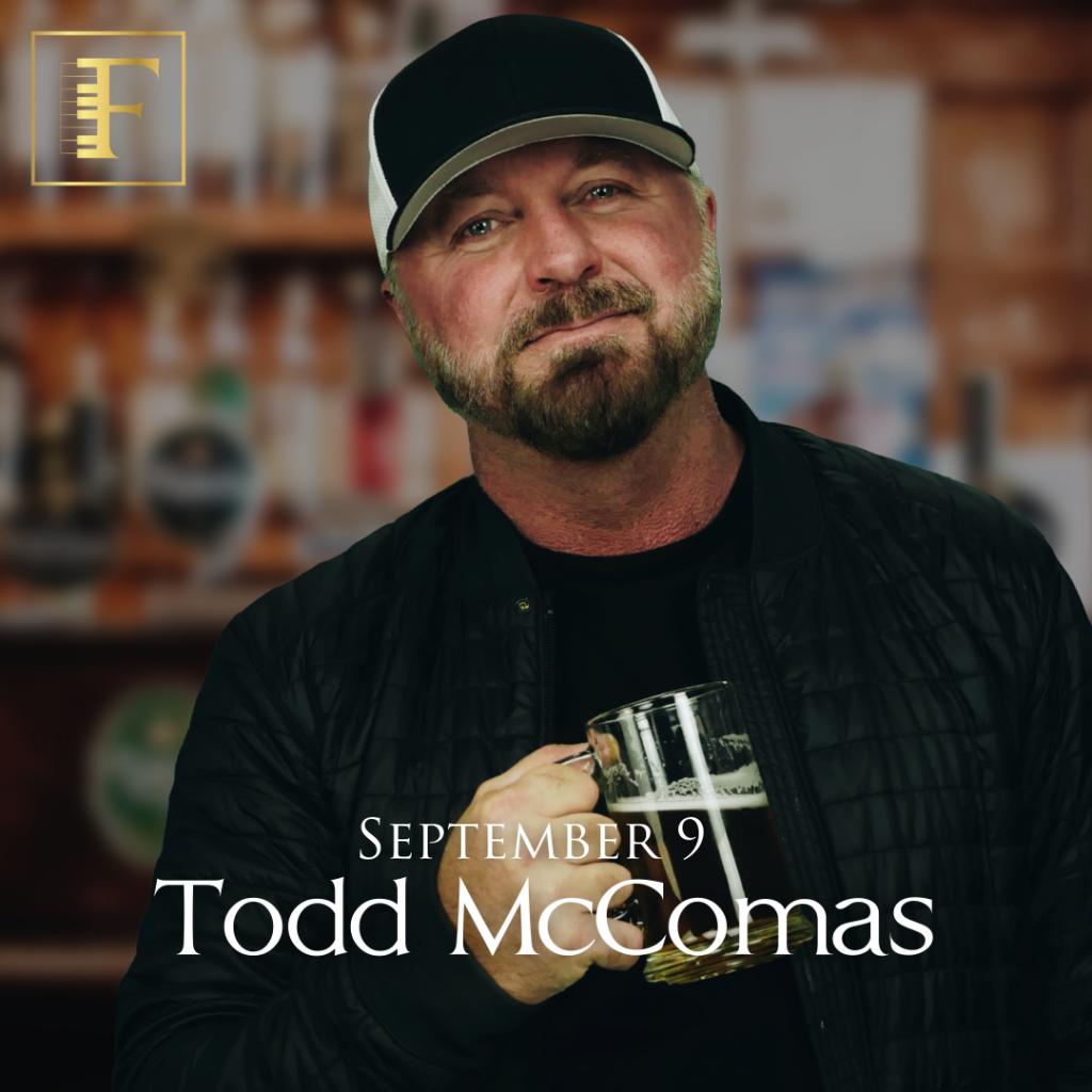 Feinstein's Todd McComas