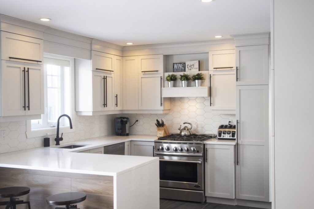 Spray Net affordable kitchen cabinets refacing